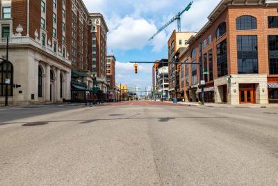 Digital Photograph, Monroe Avenue
