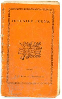 Booklet, 'juvenile Poems'