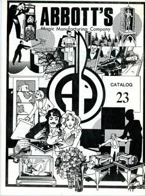 Catalog, Abbots Magic Manufacturing Company, Archival Collection #29