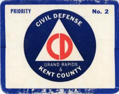Vehicle Identification Cards, Civil Defense