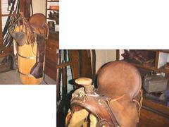Double Roping Western Saddle