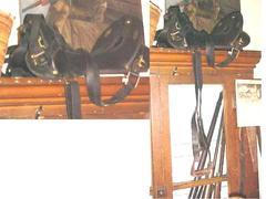 Mcclellan-type Military Saddle