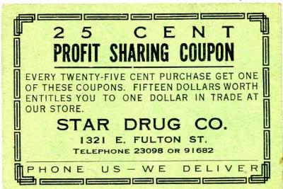 Profit Sharing Coupons