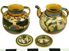 Tea Pot And Bean Pot, Petatillo