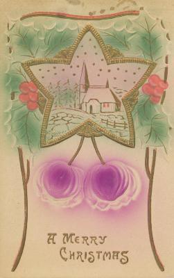 Postcard, Christmas