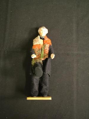 Portrait Doll Of Abraham Lincoln