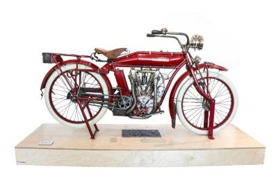 Motorcycle, Indian Model E