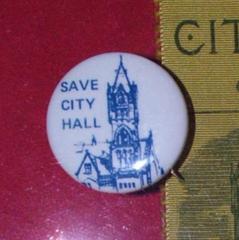 Pin, Save City Hall