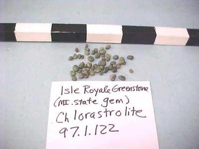 Chlorastrolite, Isle Royale Greenstone