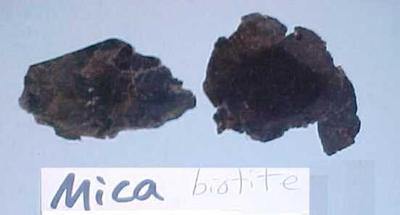 Black Mica Or Biotite, 2 Pieces