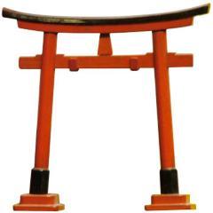 Torii Gate Model, Japanese