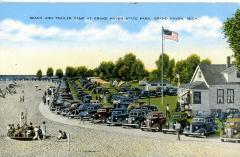 Postcard, Grand Haven Campground