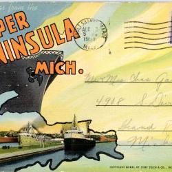 Postcard Set, Scenic Upper Peninsula