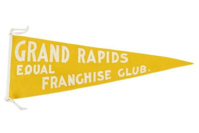Pennant,  Grand Rapids Equal Franchise Club