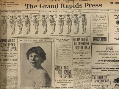 Grand Rapids Press, Suffrage Edition
