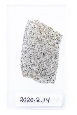 Allegan Meteorite (thin section)