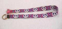 Belt With Peace Symbols