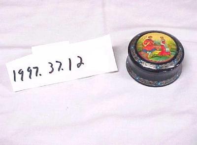Russian Decorative Trinket Box