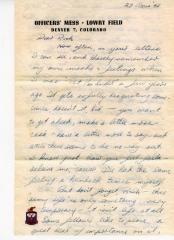 Replica Letter, Jay Van Andel to Rich DeVos
