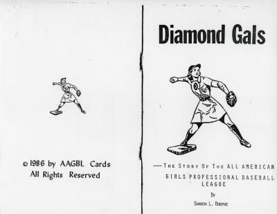 Book (Reproduction), Diamond Gals, All-American Girls Baseball League Archival Collection #66