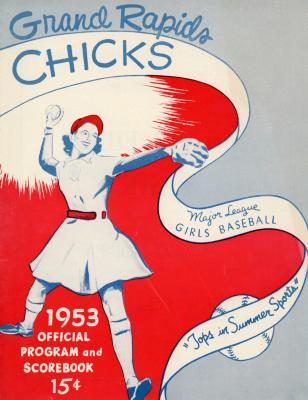 Program and Scorebook, All-American Girls Baseball League Archival Collection #66