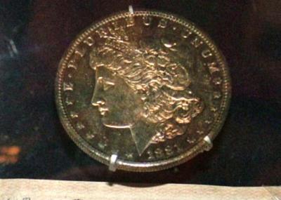 Coin, U. S. Silver Dollar