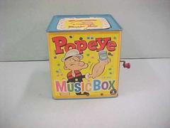 Popeye Musical Jack-in-the Box