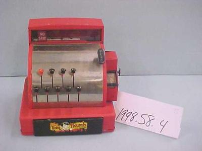 Toy Tom Thumb Cash Register And Play Money