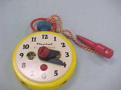 Playskool Toy Clock, Tic-apart-clock