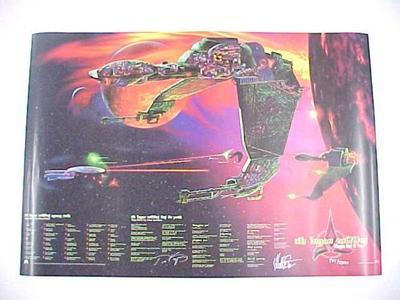 Poster, Klingon Bird Of Prey Star Trek