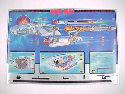 Poster, Original Series Uss Enterprise Ncc-1701 Star Trek