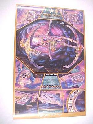 Poster, Star Trek Deep  Space Nine
