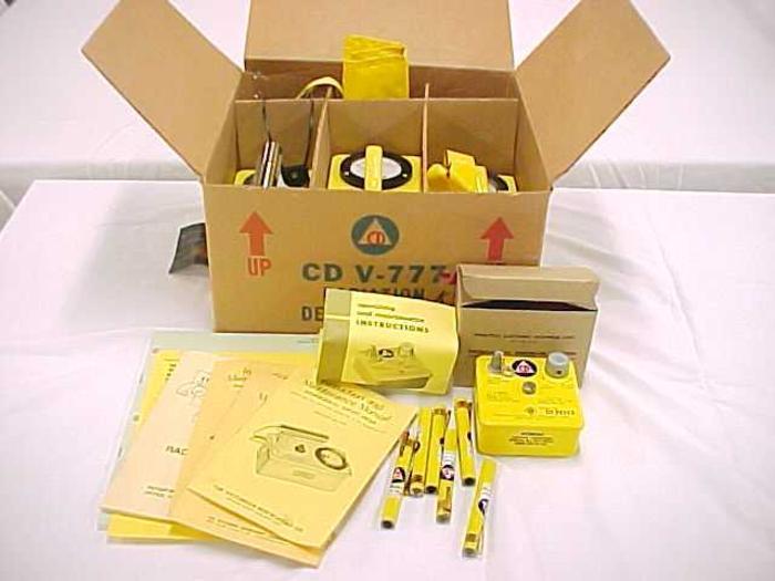 Radiation Detection Set