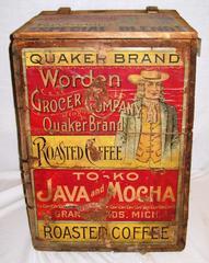 Crate, Wood, Worden Coffee