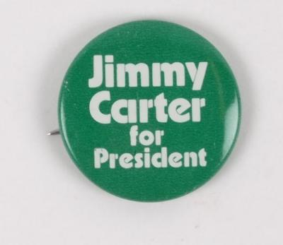 Campaign Button, 'Jimmy Carter For President'