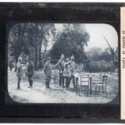Lantern Slide, Kaiser Wilhelm Receiving Report