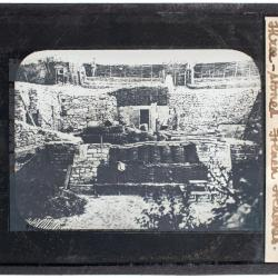 Lantern Slide, Three-Stoned French Trenches