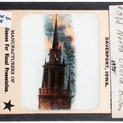 Lantern Slide, Boston Massacre