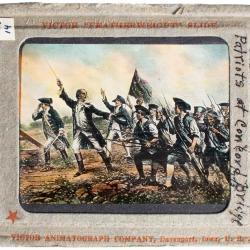 Lantern Slide, Fight at Lexington