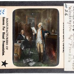 Lantern Slide, Statue of Thomas Jefferson