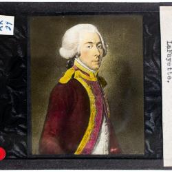 Lantern Slide, Alexander Hamilton