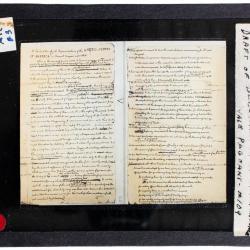 Lantern Slide, Declaration of Independence