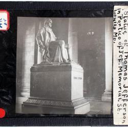 Lantern Slide, Reading the Declaration of Independence