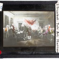 Lantern Slide, Continental Congress