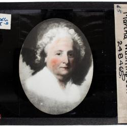 Lantern Slide, George Washington Portrait