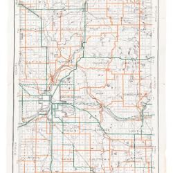 Road Map, Kent County, 1928
