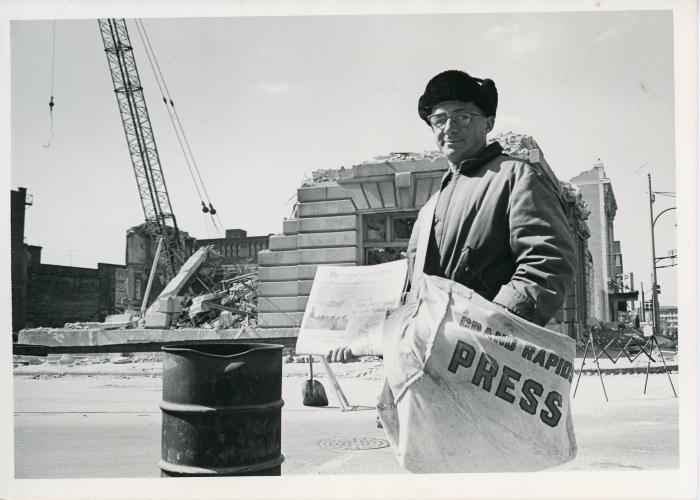 Photograph, Newsboy