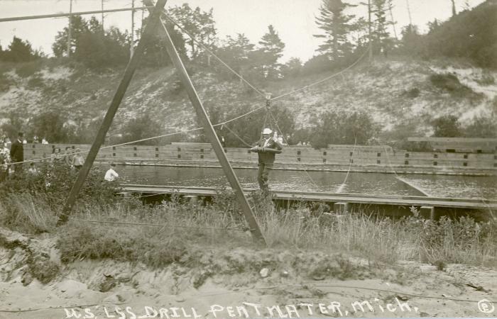 Photograph, USLSS Drill