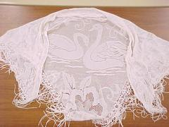 Synthetic Knit Shawl