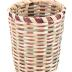 Tall Round Splintwood Basket
